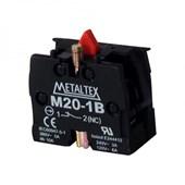 BLOCO DE CONTATO 1NF 5A PARA BOTÃO M2/P2 M20 METALTEX