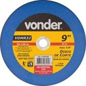 DISCO DE CORTE 3,0MM x 22,23MM VDMR32 - VONDER