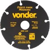 DISCO DE CORTE PARA MADEIRA 110MM DMV110 - VONDER
