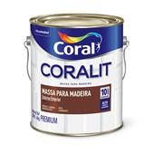 MASSA P/MADEIRA BRANCO 3,6LT CORAL
