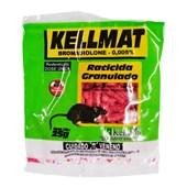 RATICIDA GRANULADO KELLMAT 25G - KELLDRIN